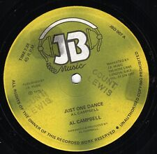 """ JUST ONE DANCE. "" al campbell. J B MUSIC 12in 1979."