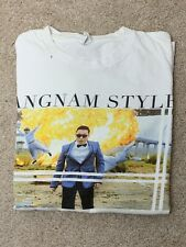 Vintage PSY Gangnam Style T-Shirt Men's Large Excellent Used Condition