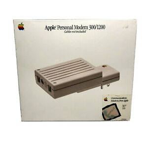 New Old Stock Apple Personal Modem 300/1200 Vintage 1986 Computer