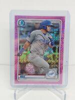 2020 Bowman Chrome KEIBERT RUIZ RC Mega Box Pink Mojo Refractor /199 Dodgers