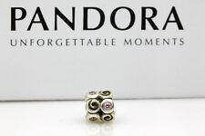 790263PC Authentic PANDORA Sterling Silver Pink Fantasy Charm Bead Suit Bracelet