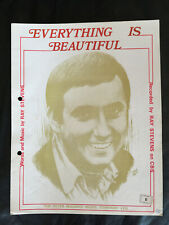 Ray Stevens - 'Everything Is Beautiful' - 1970's Vintage Sheet Music Score!