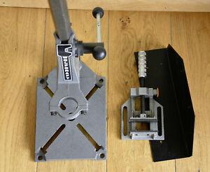 Bohrständer Wolfcraft mit Schraubstock