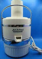 Jack LaLanne's Deluxe Power Juicer Model JLS-88 Classic Juice Pulp Extractor NIB