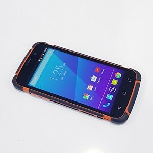 ZTE Telstra Tough Max T84 16GB - Orange (Unlocked) 4GB/LTE WORKING GOOD