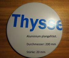 Ronde aus Aluminium plangefräst AlMg4,5Mn Blech 200 x 20 mm foliert aluscheibe