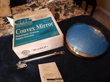 C R Laurence Co Plxr13 12 inch Plexiglas Convex Mirror New Open Box