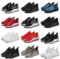 Men's Sneakers Athletic Flyknit Sport Outdoor Running Air Cushion Jogging Shoes