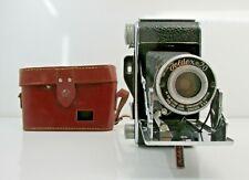 Pho-Tak Foldex-20 Film Camera w/Case 86mm Octvar Lens