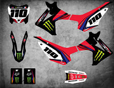 Custom Graphics Full Kit to Fit Honda CRF 110 2013 - 2019 SURGE STYLE stickers