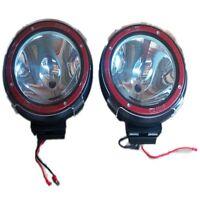"2 x 7"" HID Black Xenon Driving Light Off Road  Spot light Car SUV Jeep ATV 4x4"