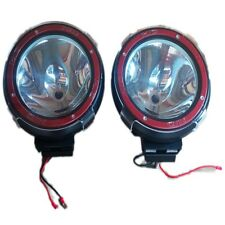 "2 x 7"" HID Black Xenon Driving Light Off Road  Spot light Car SUV Jeep ATV 4x4"