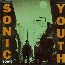 ☆ CD SINGLE SONIC YOUTH 100%  Promo 1-track CARD SLEE ☆