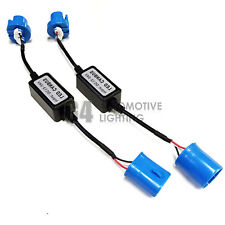 2x Canbus HB5 9007 LED Decoder Error Free Anti-Flicker Warning Canceller Adapter