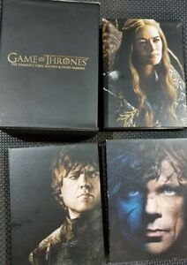 Game Of Thrones : Season 1-3 Collector's Edition DVD with slipcase and posters