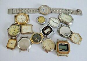 Job Lot of Quartz Wristwatches - Charpier Rieme / Pulsar / Acqua etc