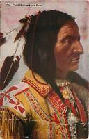 Wisconsin Dells~Rosebud Agency SD~Chief Hollow Horn Bear~Postcard~Died in 1913