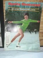 Sports Illustrated February 19, 1968, Peggy Fleming, US Olympic Champion, Cover