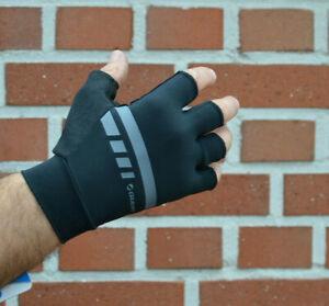 Giant Podium Gel Sf half Finger Bicycle Gloves Black/Grey