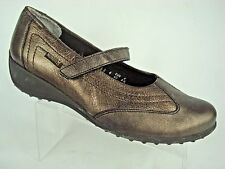 Mephisto Womens Mary Jane Sneaker Casual Loafer Flats Leather Copper Sz. 8.5