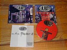 J.M. WATTS - THIRTEEN STORIES HIGH (FISCHER-Z) / ALBUM-CD 1997 MINT- & FLYER