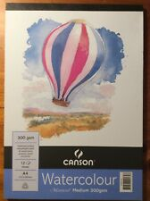 Canson Balloon Montval Watercolour Pad 12 Page By Spotlight