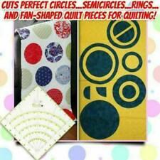 Arcs & Fans Quilt Circle Cutter Ruler Best Bid