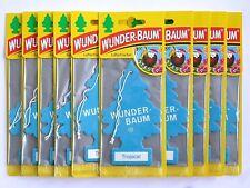 (1,30€/Einheit) 10 x WUNDER-BAUM® Tropical Duft Lufterfrischer Duftbaum Autoduft