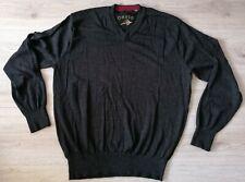 ORVIS Mens Merino Wool Gray Jumper Sweater Size XL