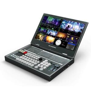 AVMATRIX PVS0615 Multi-Format Video Switcher Portable Mixer with 15.6 inch FHD L