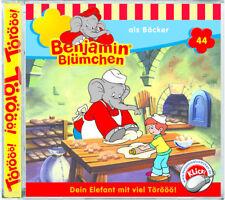 Benjamin Blümchen - Folge 44 - als Bäcker - Hörspiel - CD - *NEU*