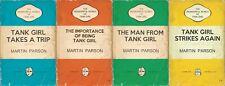 The Wonderful World of Tank Girl #1 2 3  4 (2017) Titan C cvr Parson FULL RUN