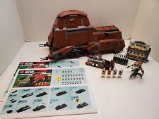 Lego Star Wars 7662 Trade Federation MTT w/ Reprint Manual Complete