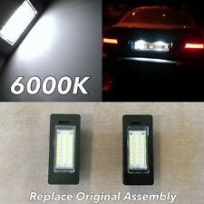 E60 NO ERROR 6000K LED LICENSE PLATE LIGHT LAMP FOR 04-10 530i 545i 535i 550i M5