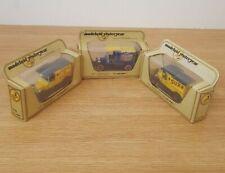 MODELS OF YESTERYEAR FORD MODEL T VANS MATCHBOX BOXED X 3