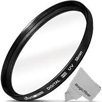 58MM UV Filter Haze Protector (Slim Design) for DSLR Lens by Altura Photo