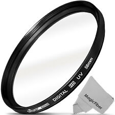 58MM UV Filter Haze Protector (Slim Design) for DSLR Lens by Altura Photo®