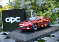 Opel Astra J OPC GTC - Collector's Model Car [Red] - Vauxhall VXR - Scale 1/43