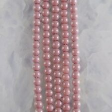 """HP1246-h 4mm Baked Porcelain Glass Ball Loose beads 16"""""""