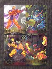 1995 MARVEL METAL Trading Card Promo VF 8.0 Uncut Venom Wolverine Iron Man