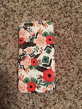 iPhone 6 Case, Dimaka Vintage Pattern Case [Floral Cover][High Impact]