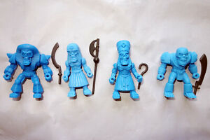 """Ancient Egypt Necros Squad, Horror Battle Beasts, 2"""" ACTION FIGURES, 54mm, Rare"""