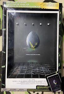 Mcfarlane Alien 3-d Movie Poster