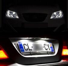 4 lampadine a LED Luci di posizione + luci di targa Bianco per Seat Ibiza III