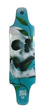 Longboard Downhill TOP mount 50 shades of DEATH skateboard freeride deck D15