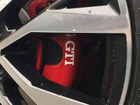 VW GTI Brake Caliper Decals Stickers Golf Mk7 Mk6 Mk5 Mk1 Mk2 Mk3 Mk4 Polo Lupo