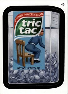 WACKY PACKAGES   10th Series 2013 (ANS10) #  46   Tric Tac