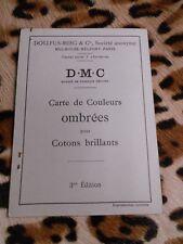 DMC : carte de couleurs ombrées pour cotons brillants, 3e éd.