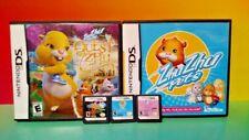 Zhu Zhu Pets 1, Quest for Zhu ZHU Princess - Nintendo DS Lite 3DS 2DS Games Rare