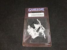 Gamesday 2011 GD11 Edición Limitada Metal SKAVEN WARLORD Sellado Blister